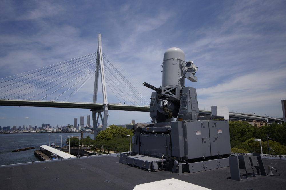 護衛艦 かが 前部CIWS ファランクス