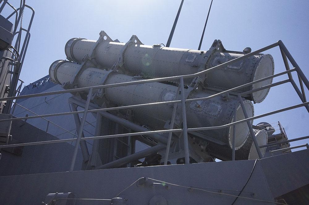 90式艦対艦誘導弾発射機